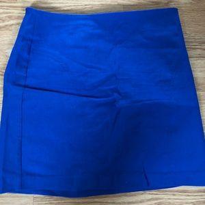 Forever 21 blue mini skirt